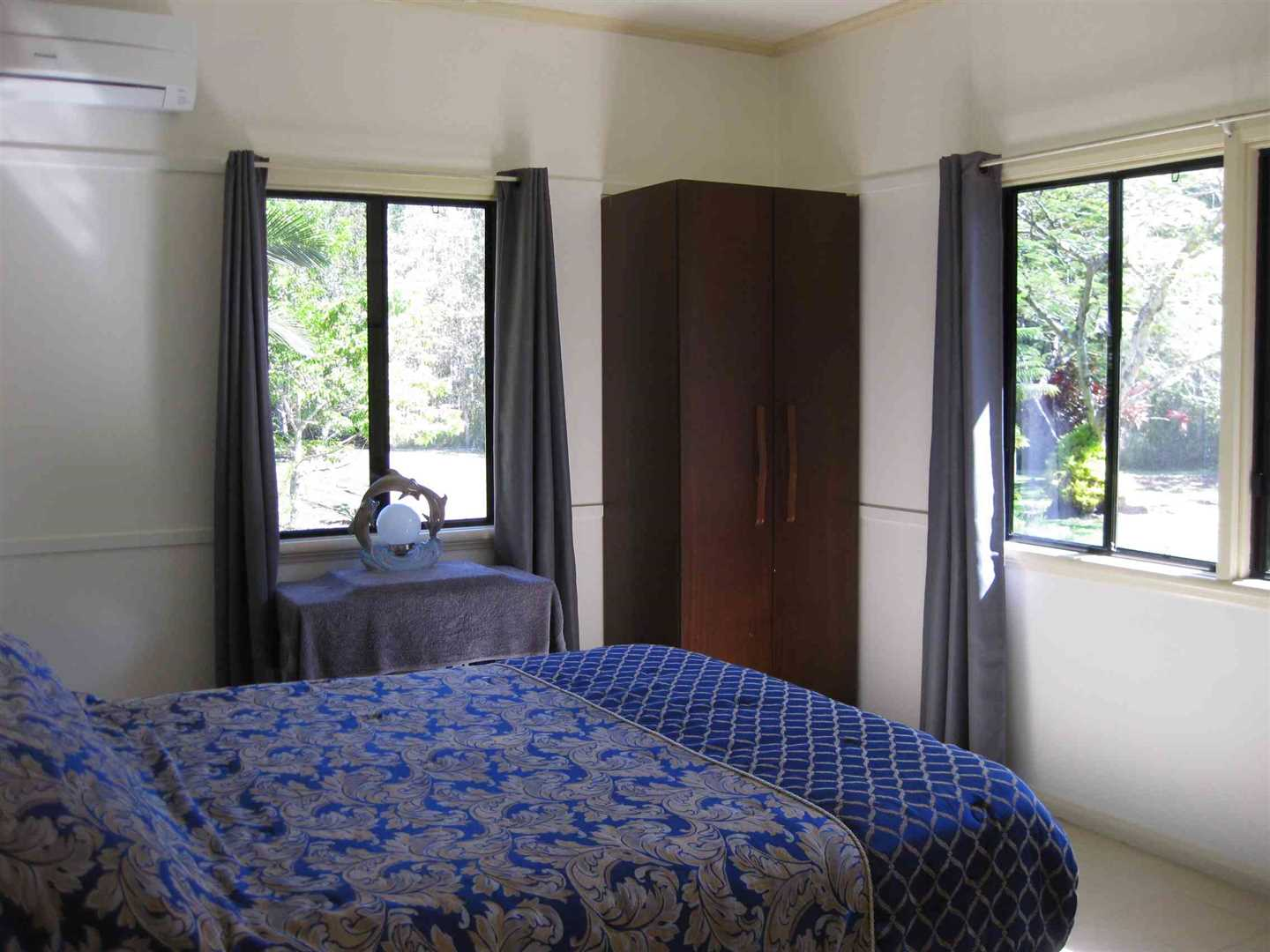 Inside view of part of home showing part of bedroom 1