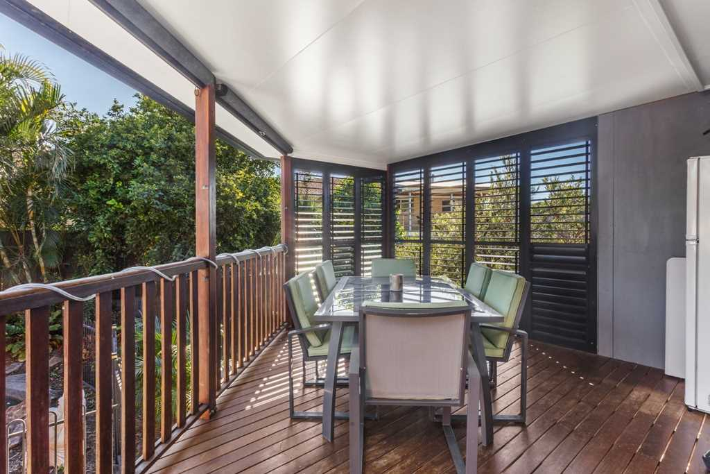 Rear Deck - Roll Down Blinds and Metal Shutters