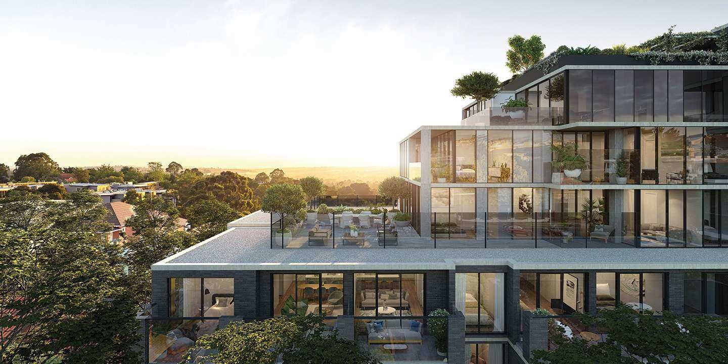 Contemporary living in a quiet leafy position of Heidelberg