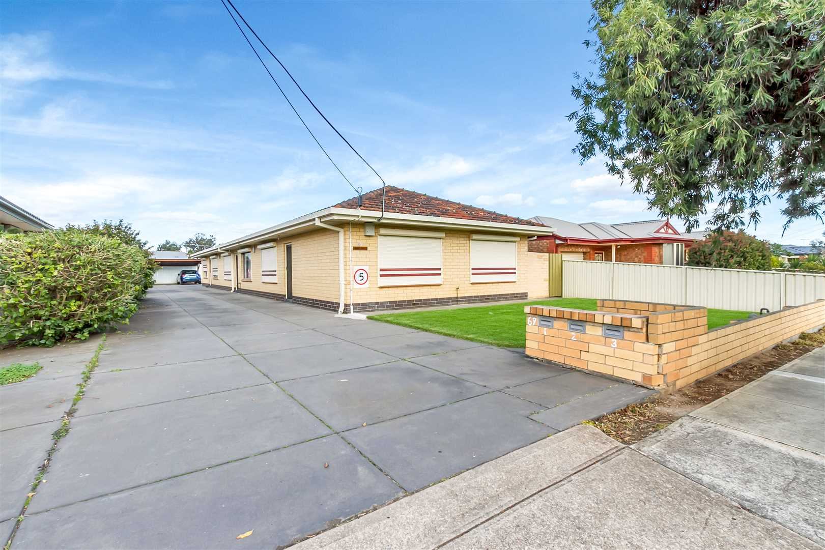 3 Units - blue chip investment