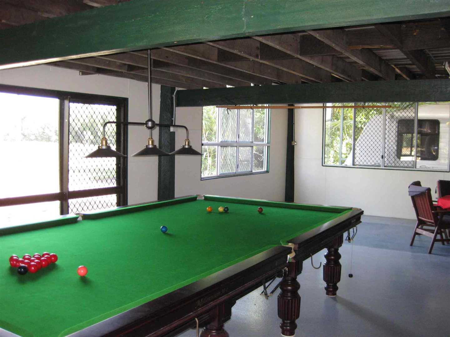 Inside view of part of home showing part of ground floor entertainment room, photo 2