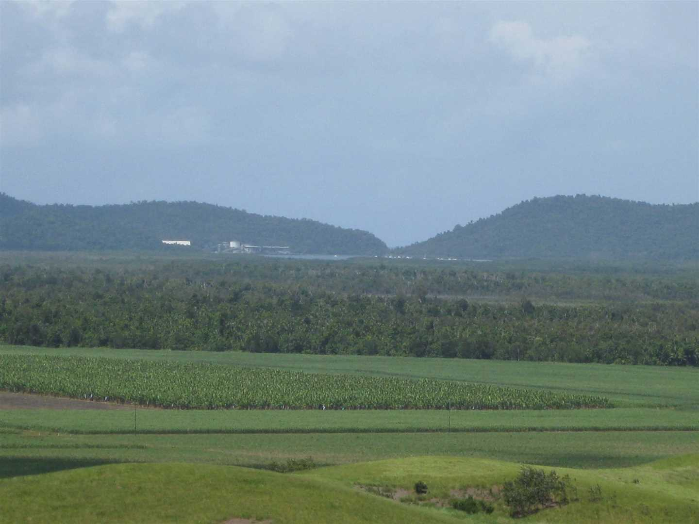 View of part of Mourilyan Harbour from the property (zoomed photo)