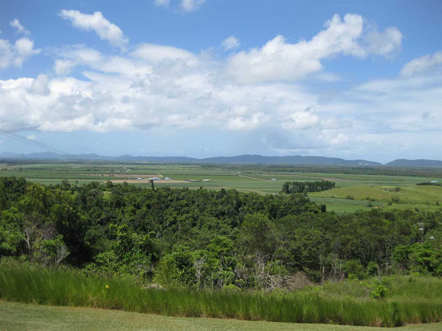 View of part of property and views overlooking rural and farming properties back to Mourilyan Harbour, photo 1
