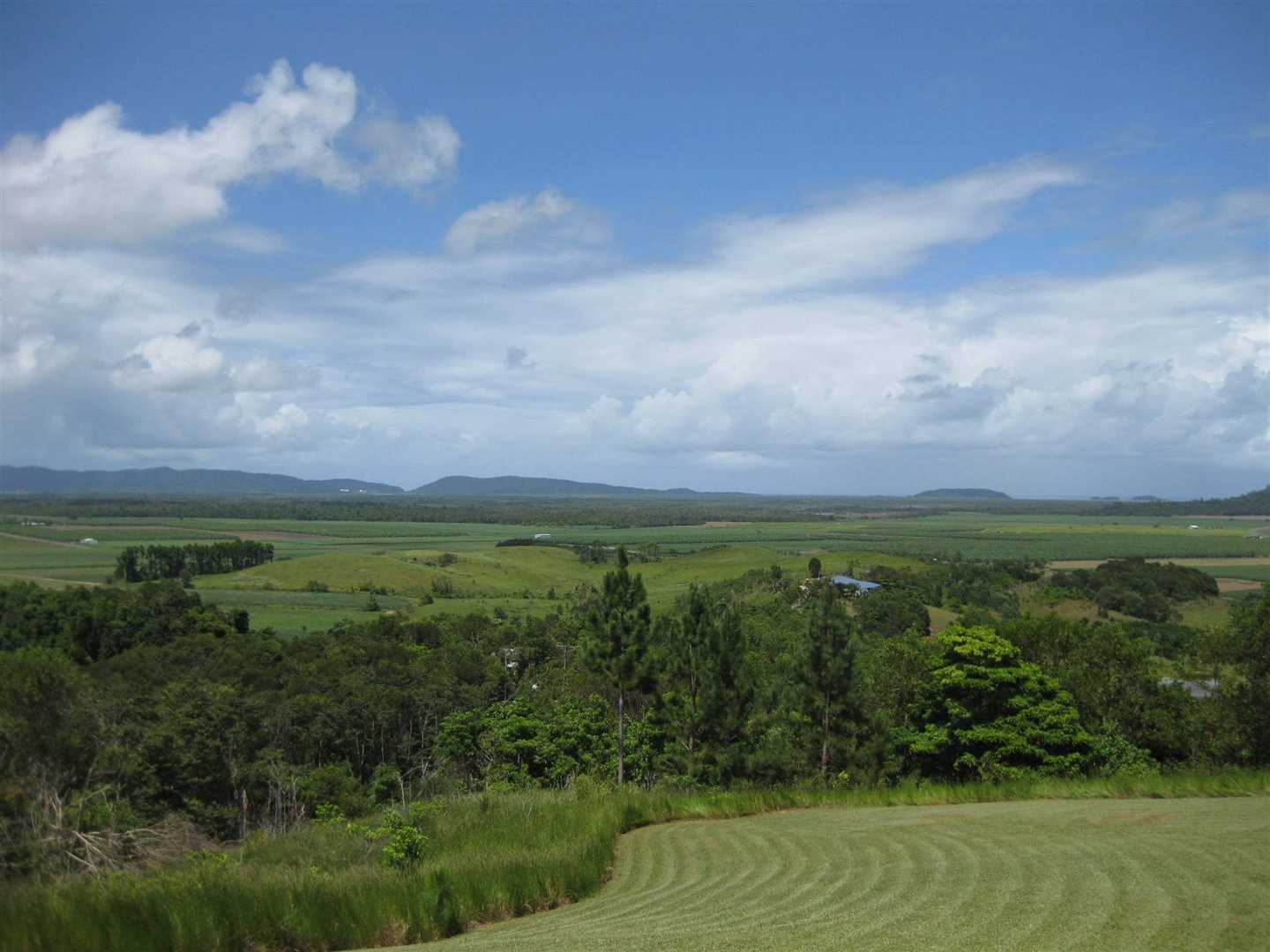 View of part of property and views overlooking rural and farming properties back to Mourilyan Harbour, photo 2