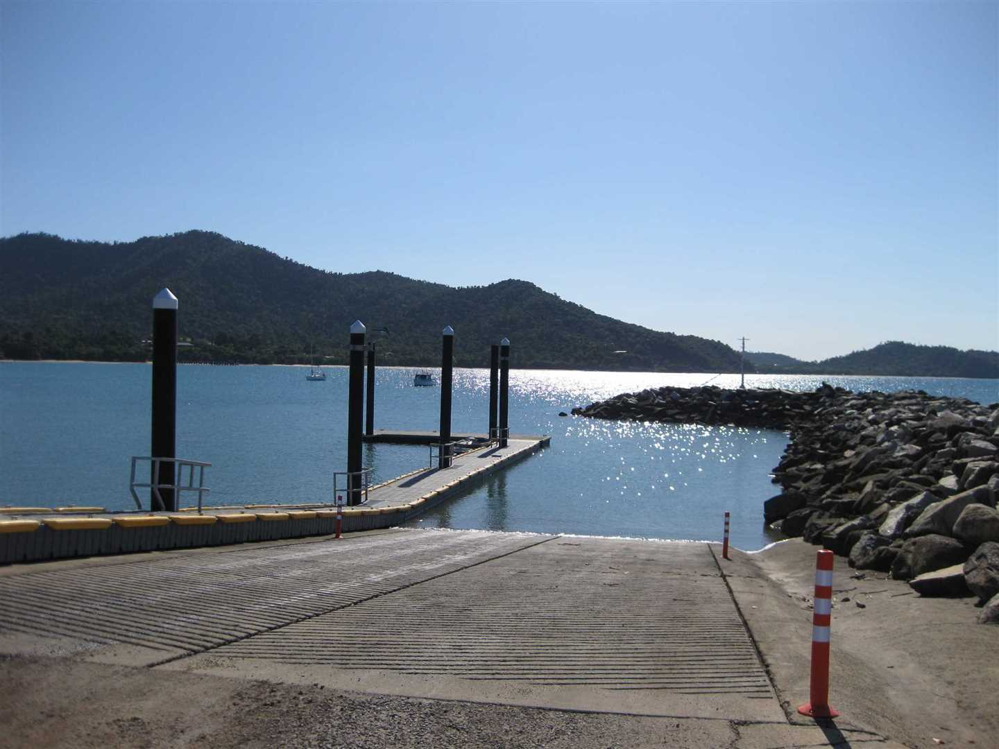 View of part of Clump Point public boat ramp approx. 2.3 km from the property