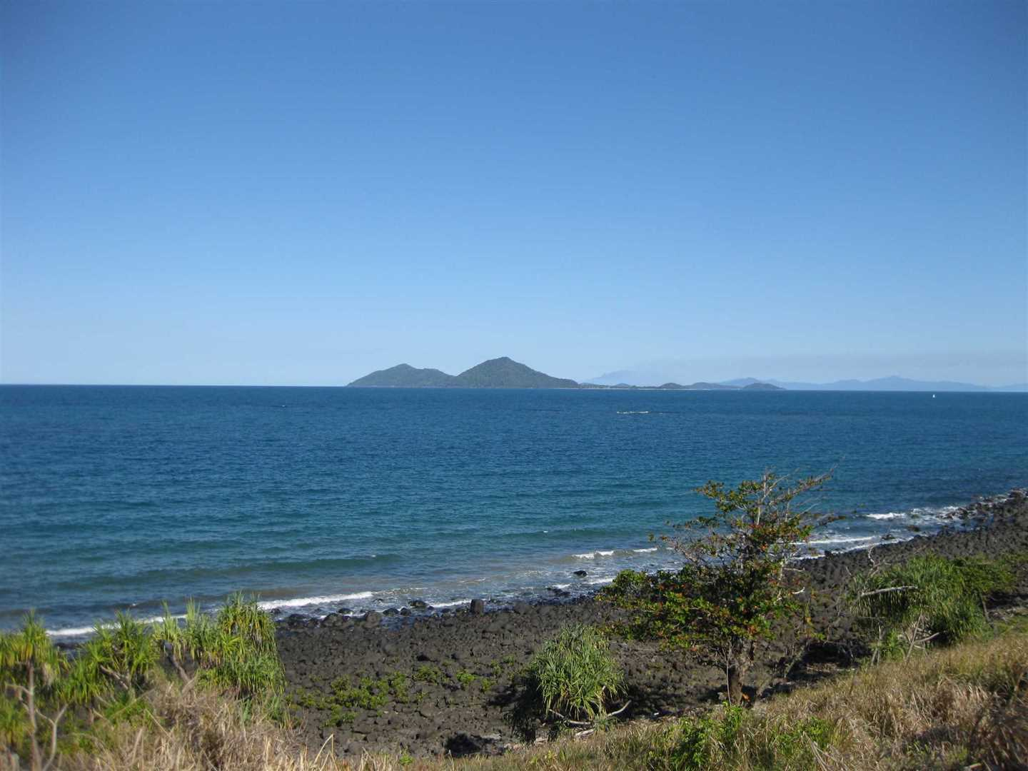 View of part of Dunk Island, Bedarra Island and adjacent Islands taken from Clump Point lookout