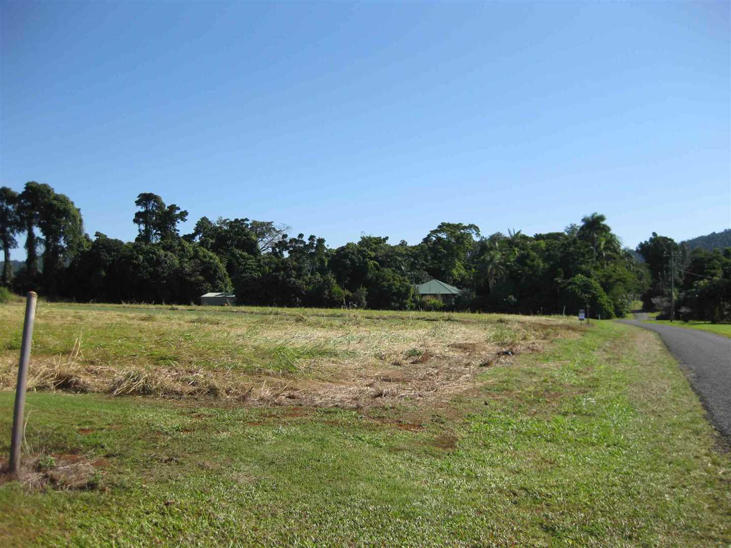 View of part of property from road adjacent to North Eastern boundary looking approx. West