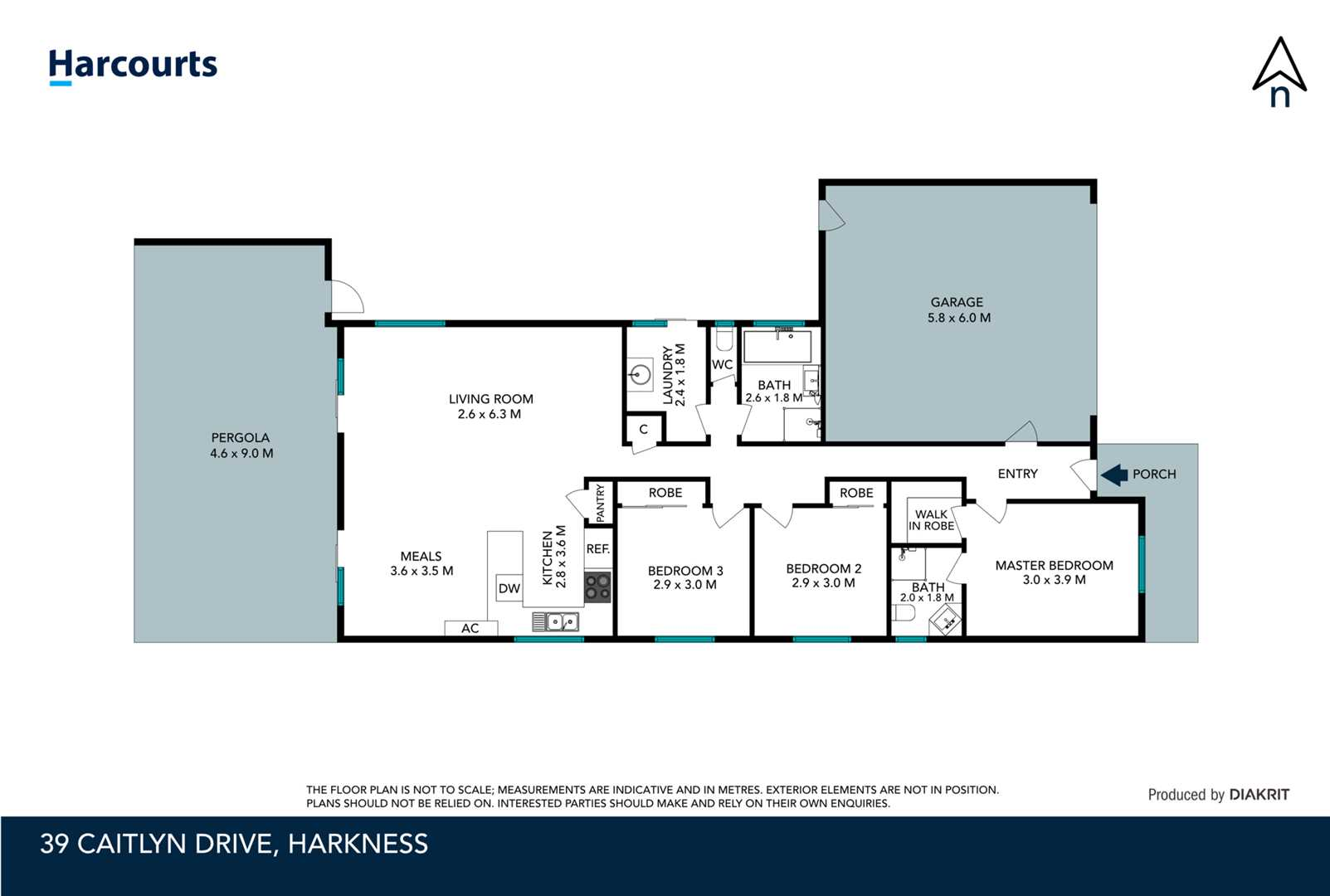 Harkness, 39 Caitlyn Drive | Harcourts Melton | Harcourts