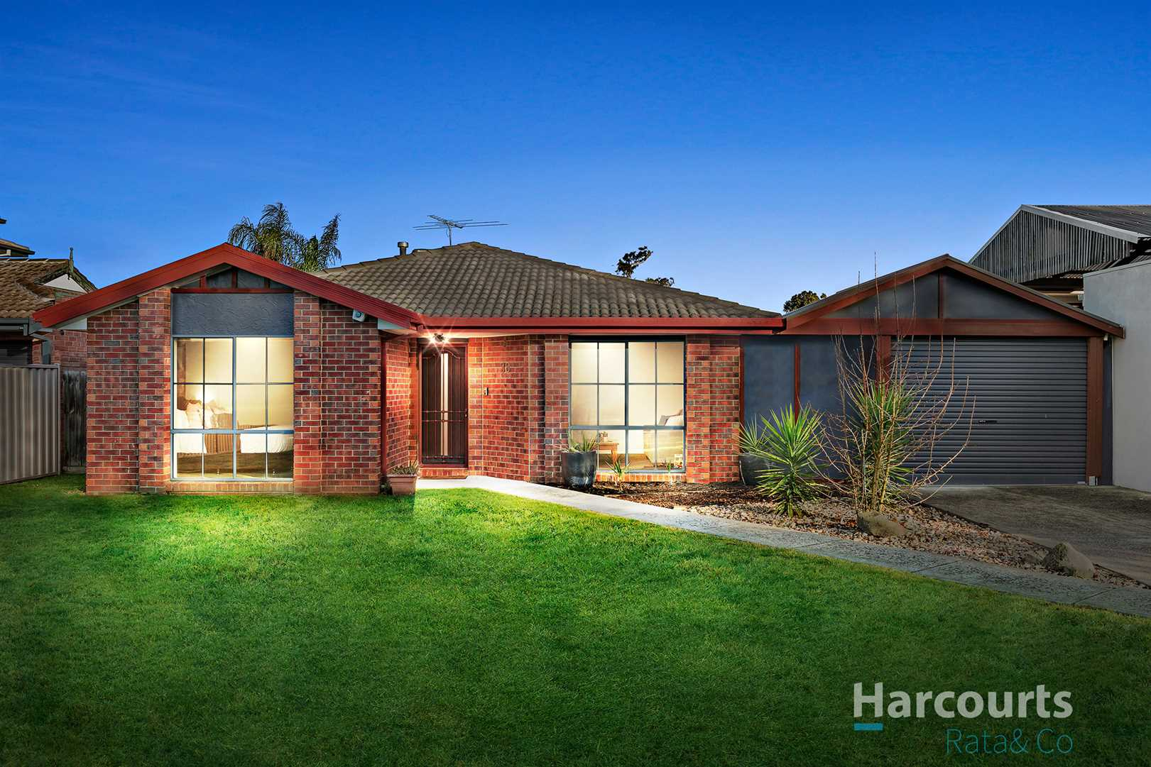 Four bedrooms on a huge 641m2 approx!