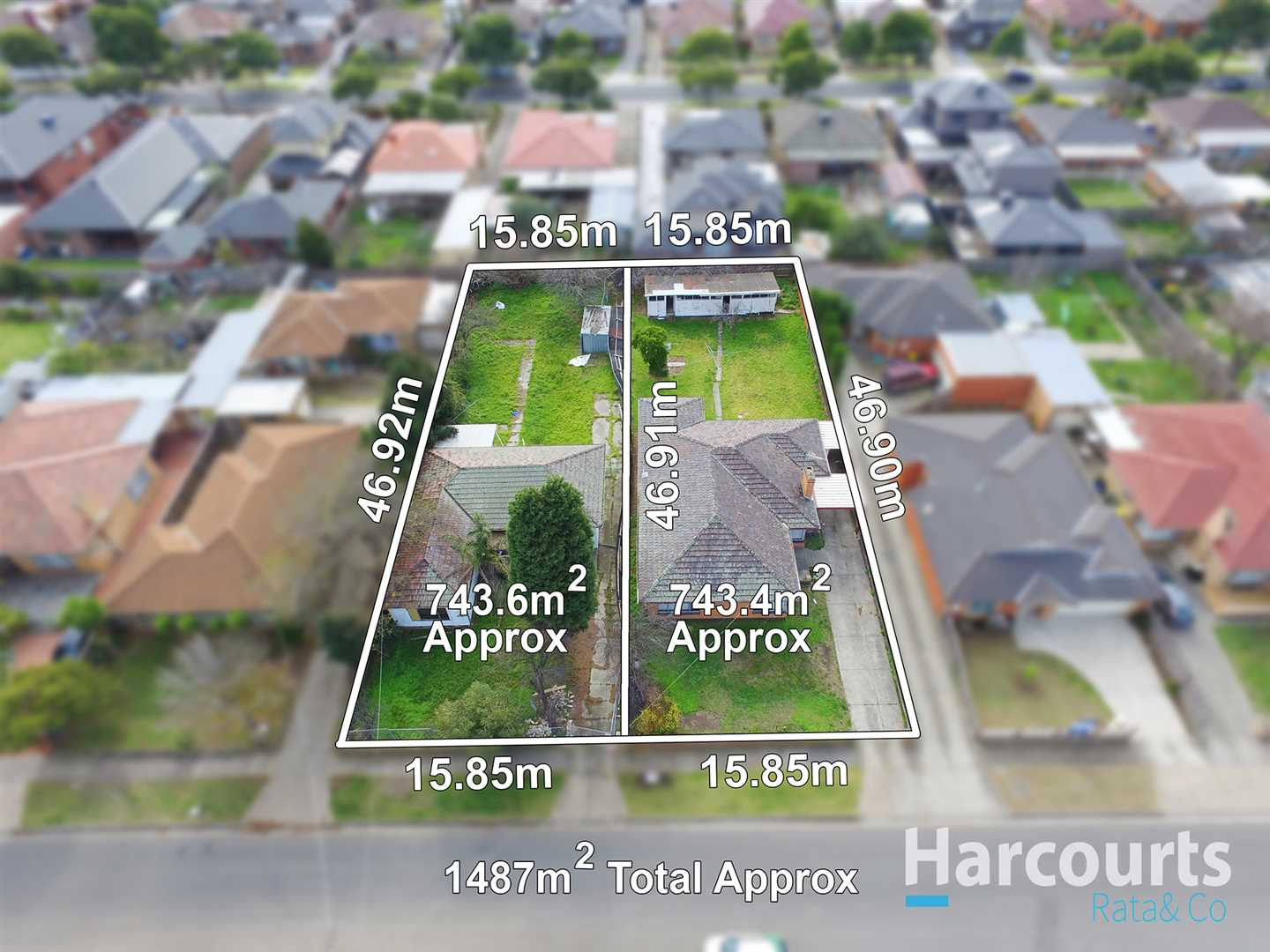 Development Opportunity on 1487m2 Approx