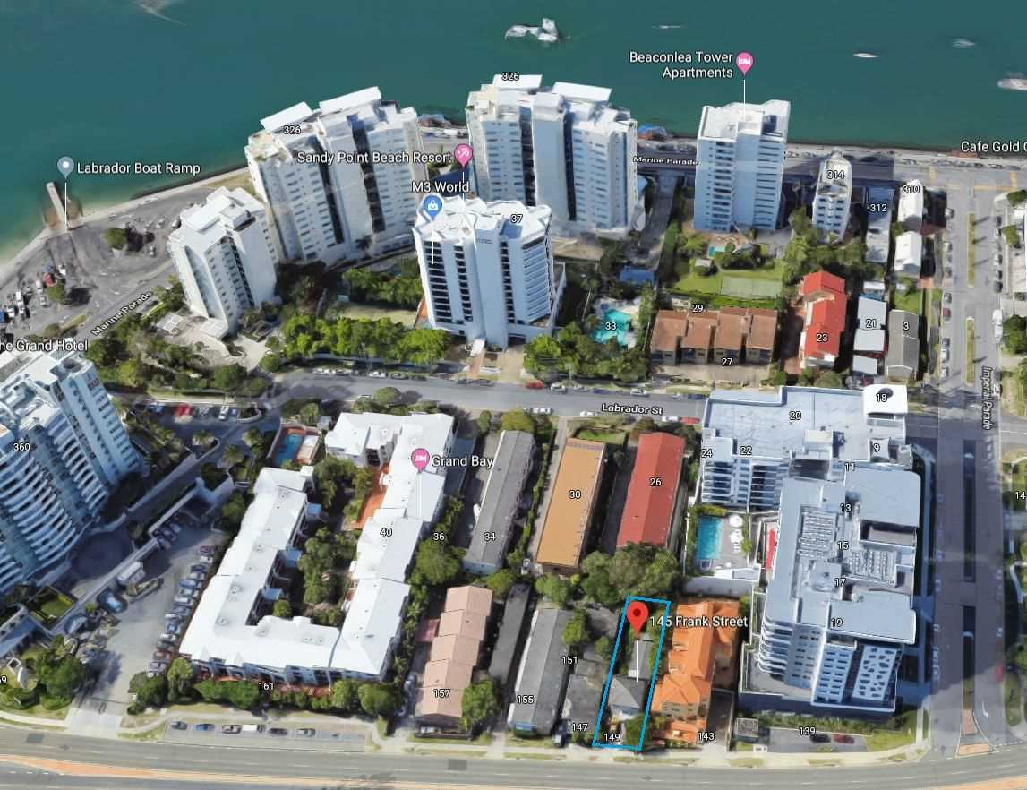 Prime Development Site Just Meters to the Broadwater!