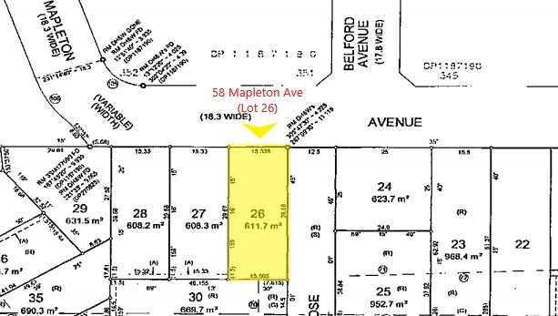 Large Parcel of Land, approx. 611sqm