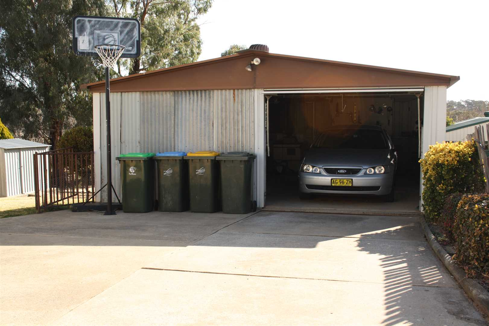 Double Lock up Garage