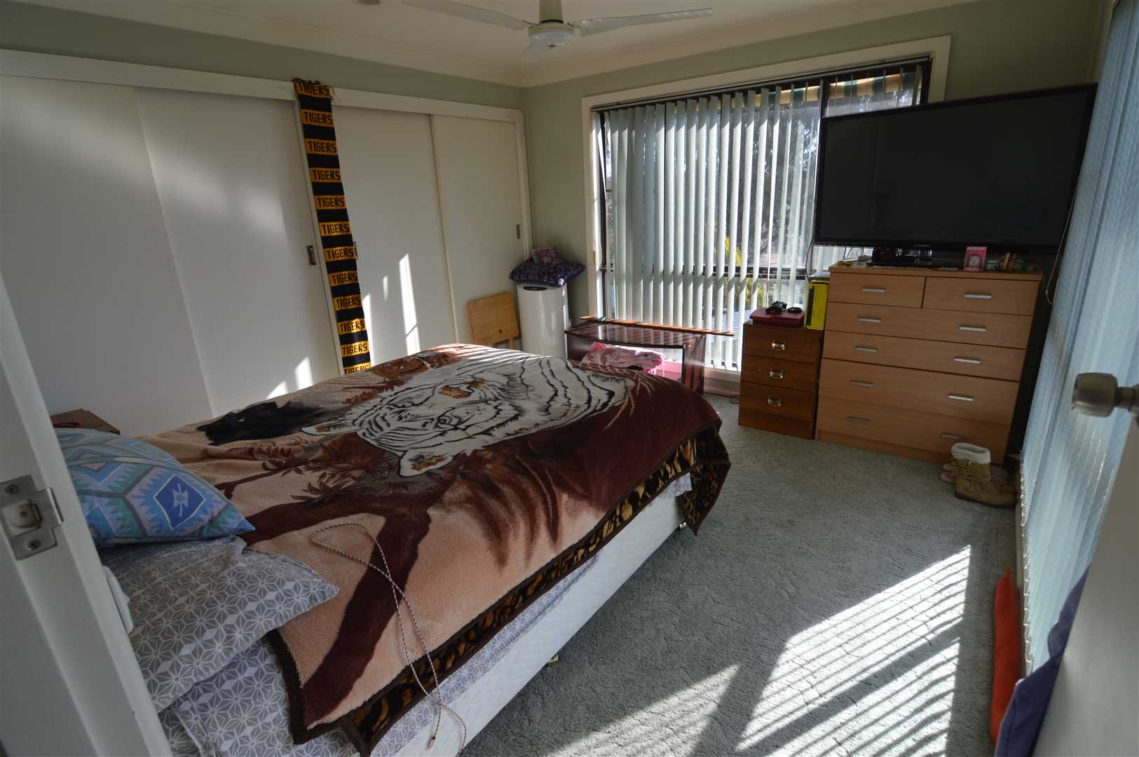 Main Bedroom with a large built in robe