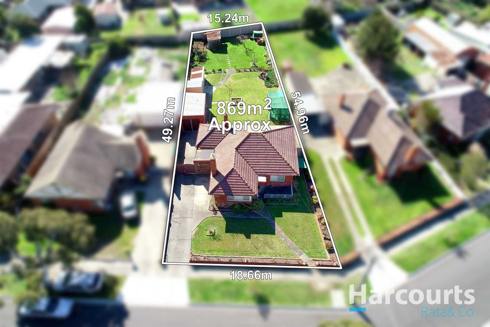 Substantial Opportunity on 869sqm!