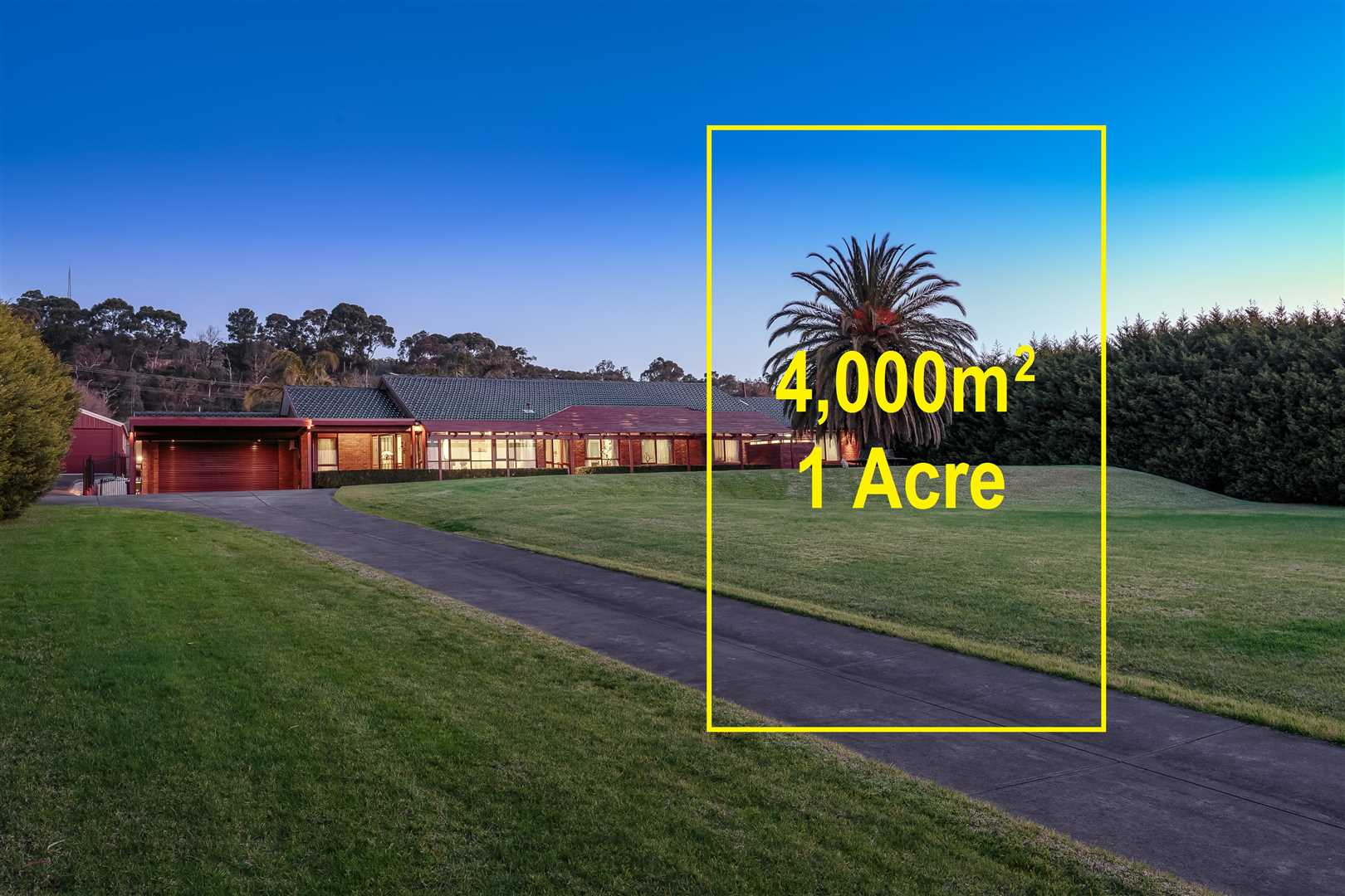 1 Acre of Pure Paradise - Scope to Subdivide