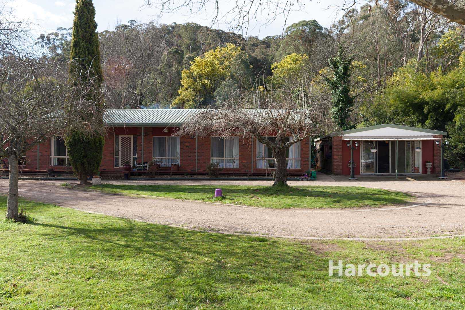 Modern home on the banks of Station Creek - 3 acres