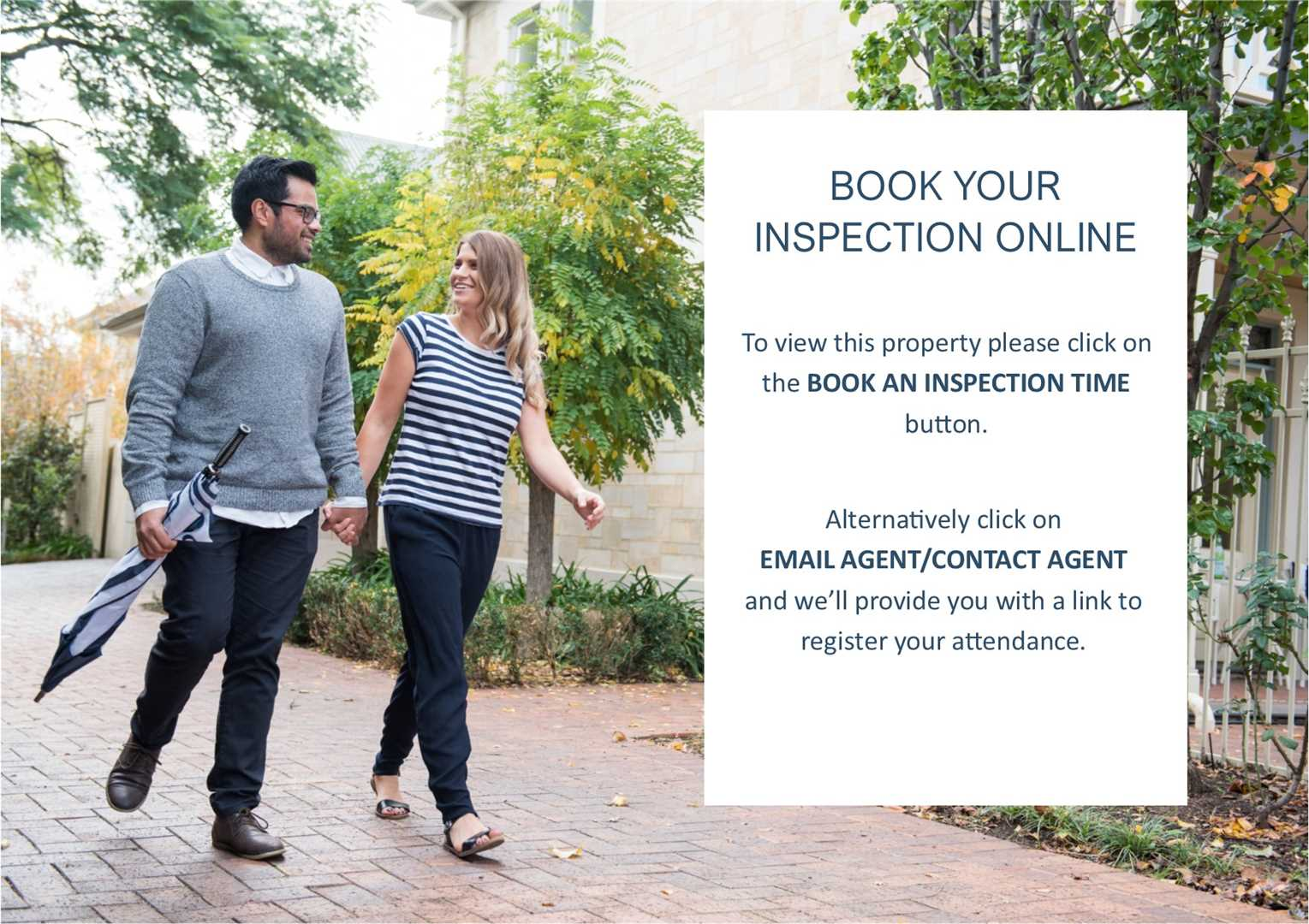 Book your inspection online