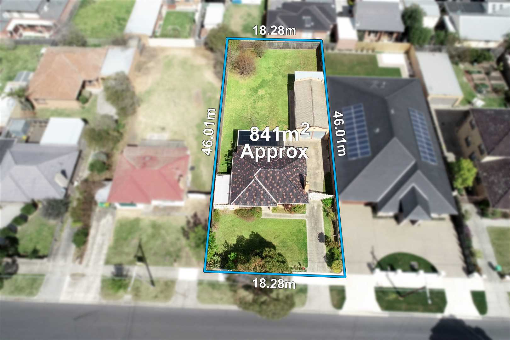 Build your Dream Home on 841m2 (STCA)