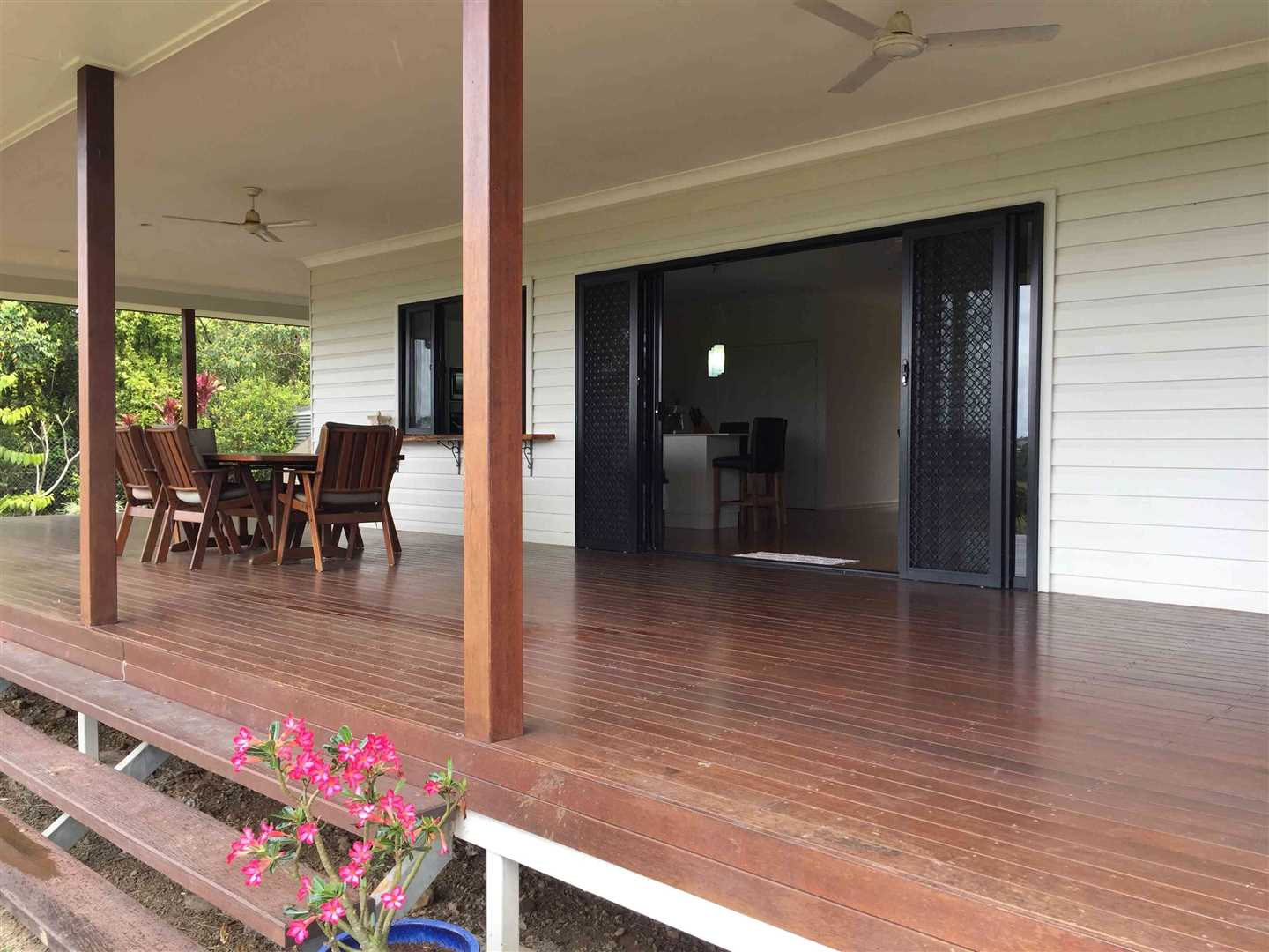 View of part of home verandah, photo 1