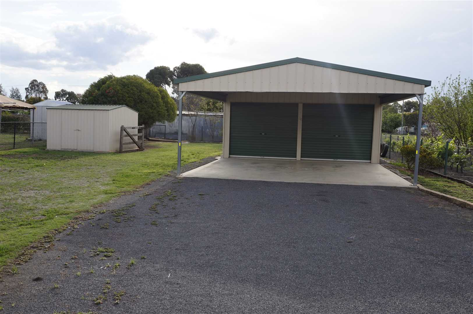 Shed and Carport