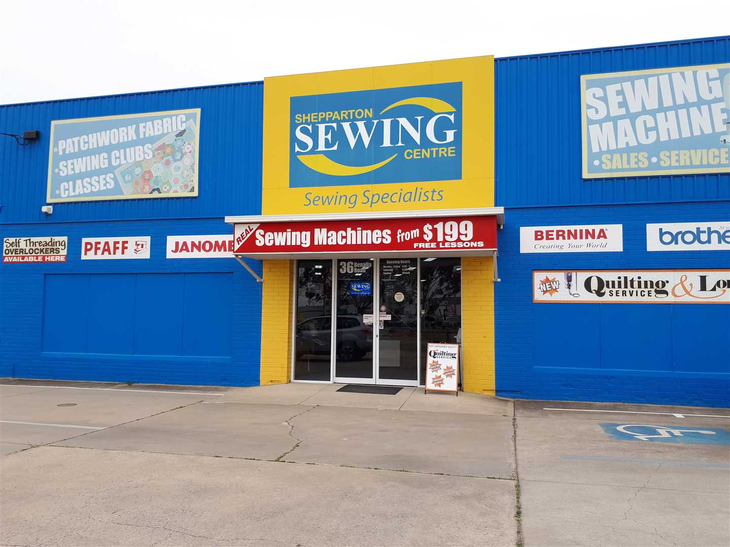 Highly regarded sewing centre