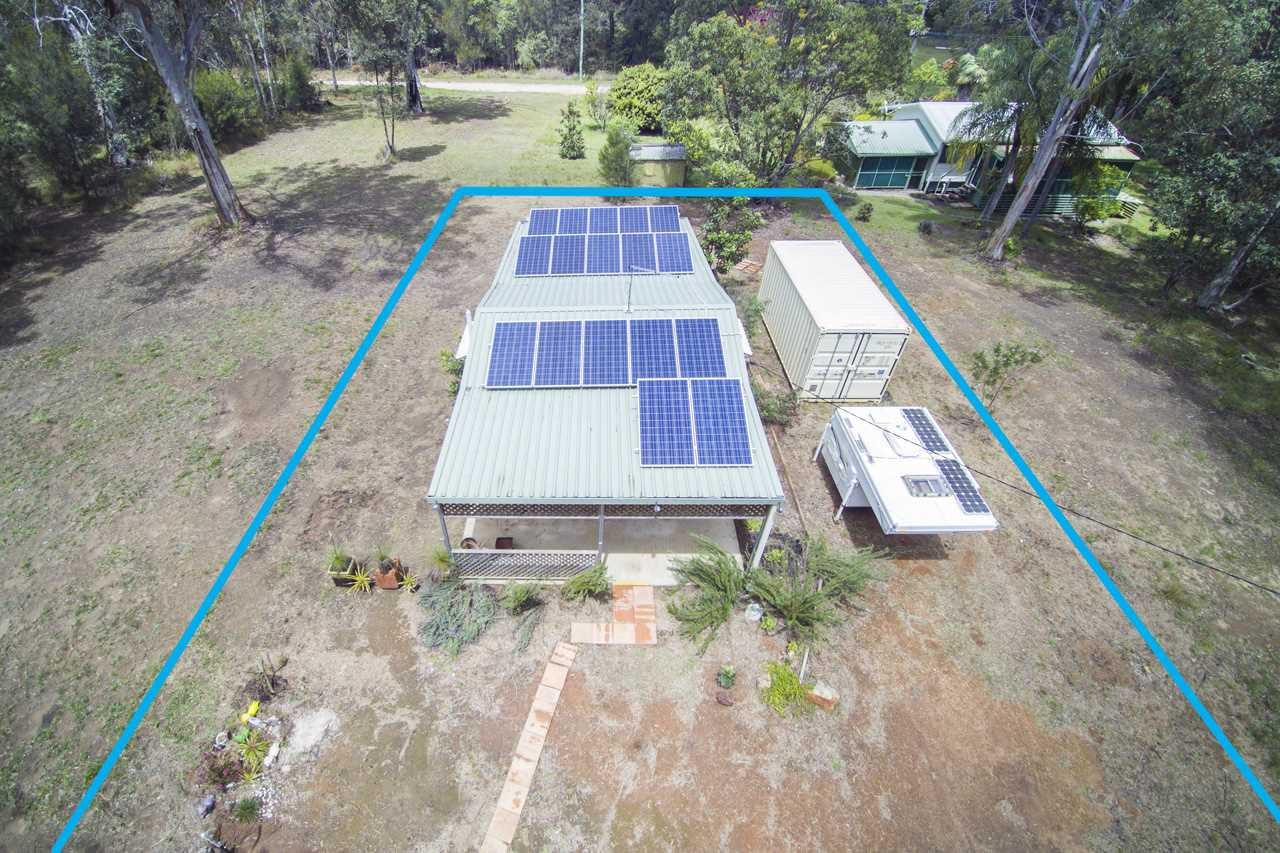 Drone view 5KW Solar PV