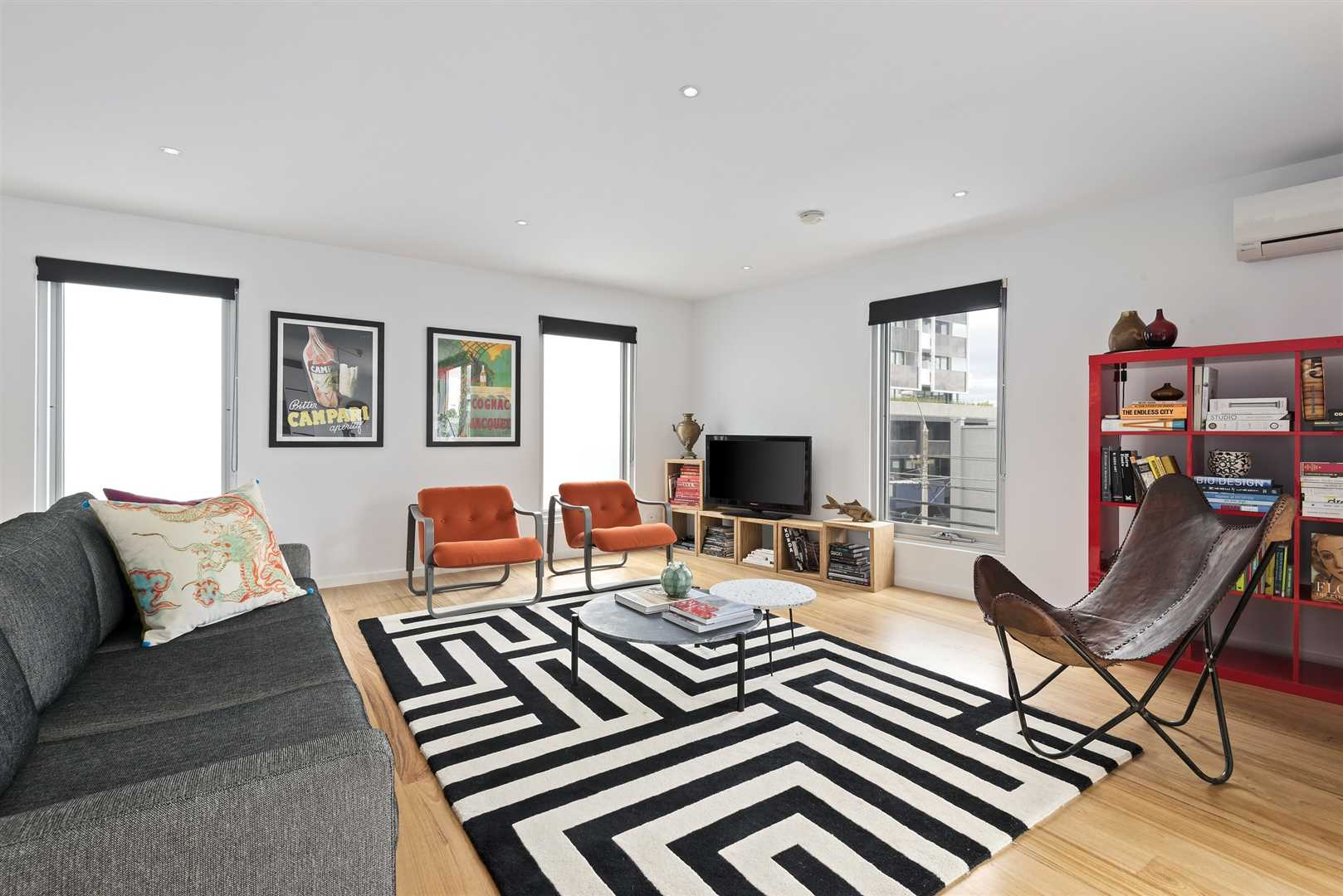 You'll Love The Light, Space & Privacy Set Over 2 Levels...