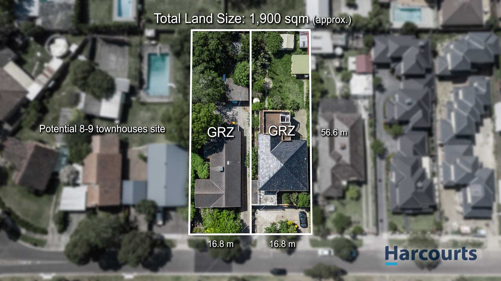 1900sqm* Land with Potential to Build 9 Townhouses