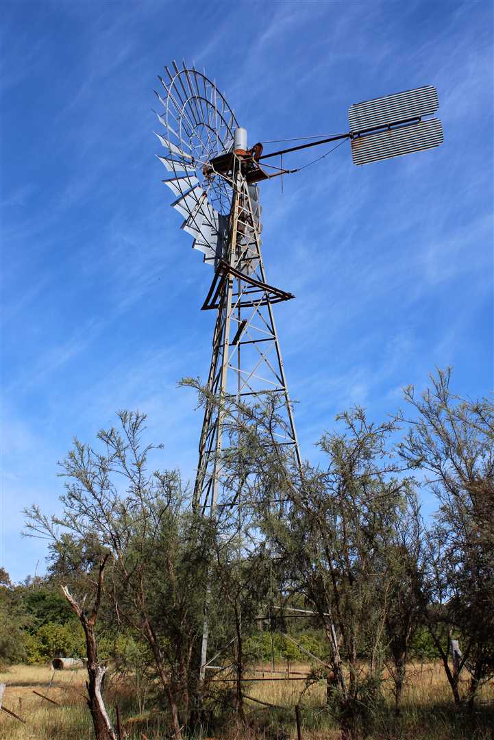 Windmill in opperation