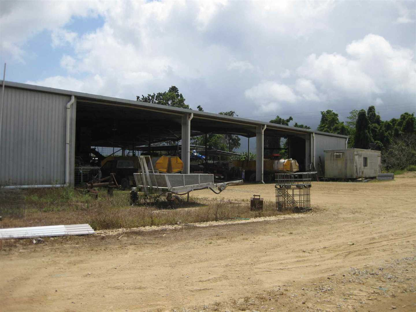 View of part of packing shed, photo 1