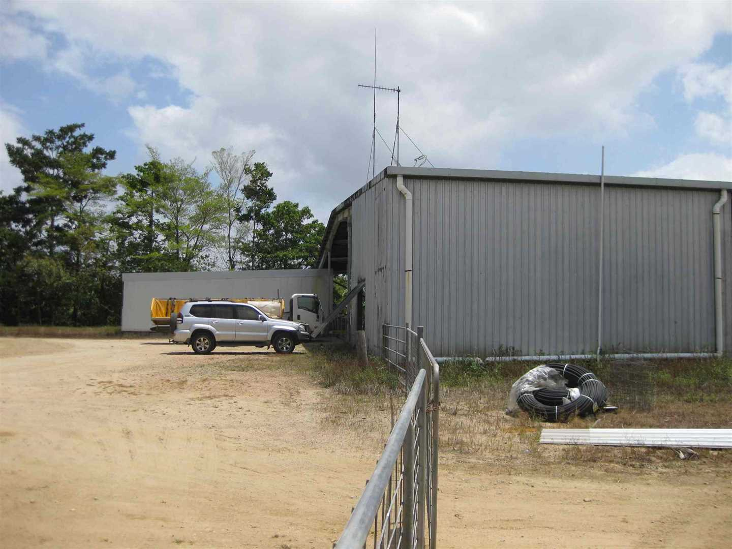 View of part of packing shed, photo 2