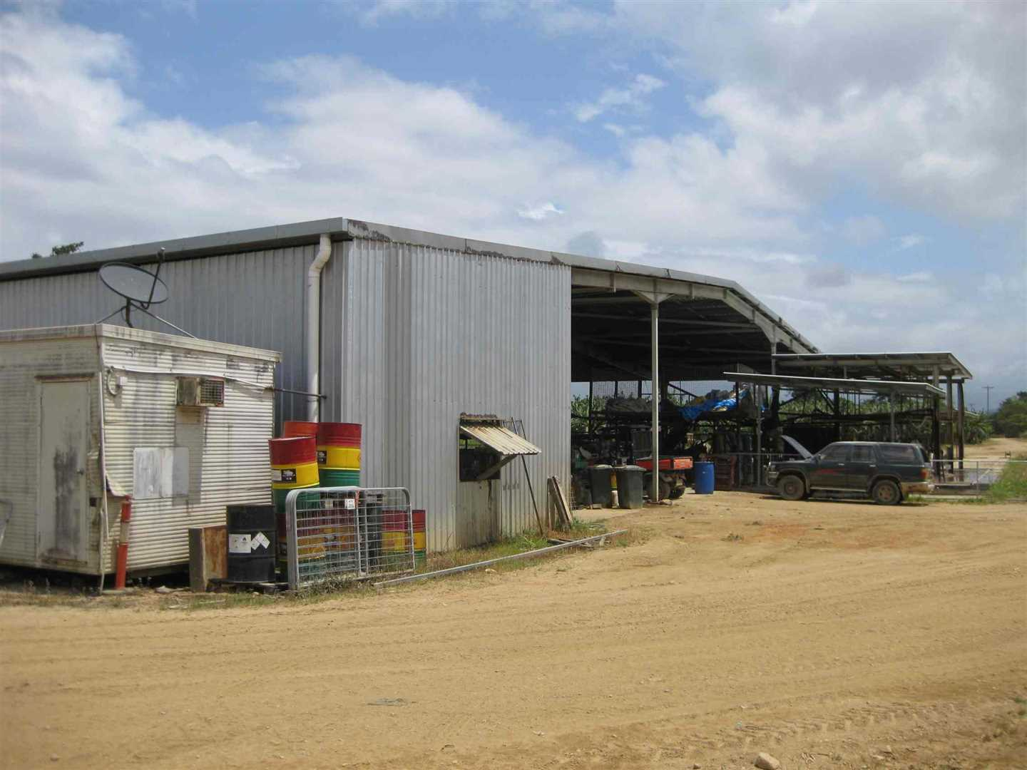 View of part of packing shed, photo 4