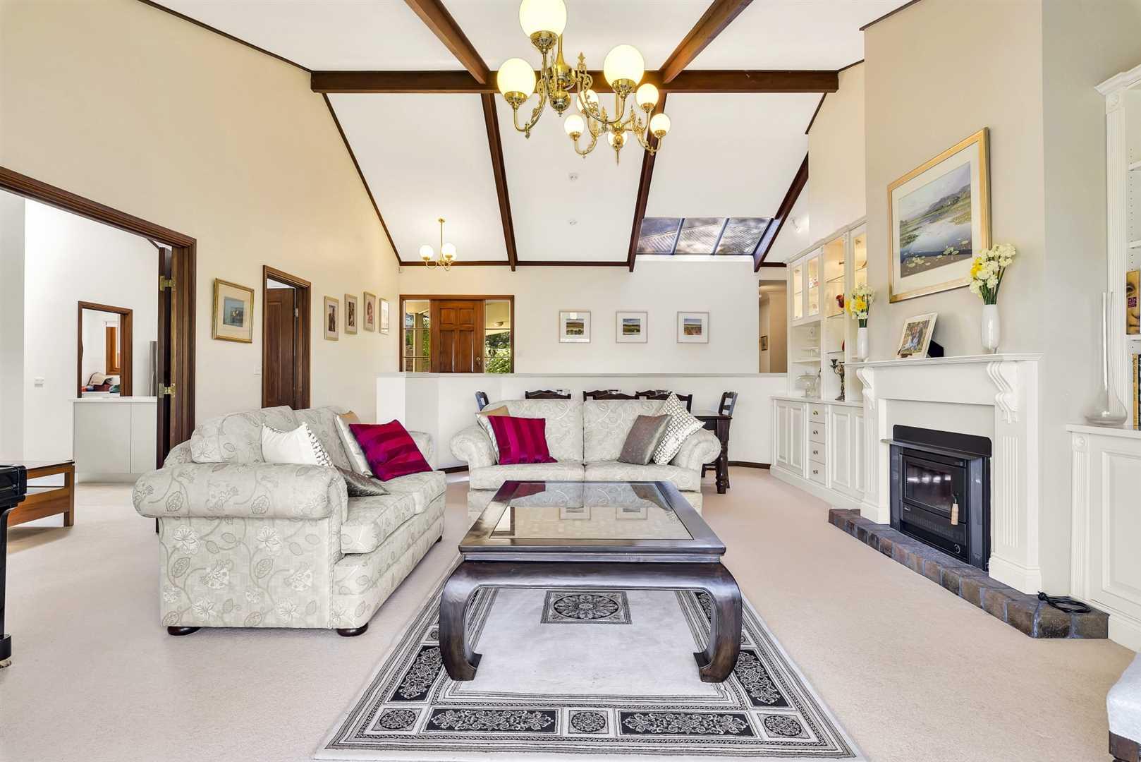 Very spacious family home in a peaceful setting