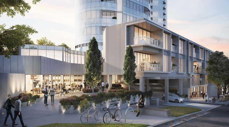 Enjoy parkside living in North Melbourne's new landmark