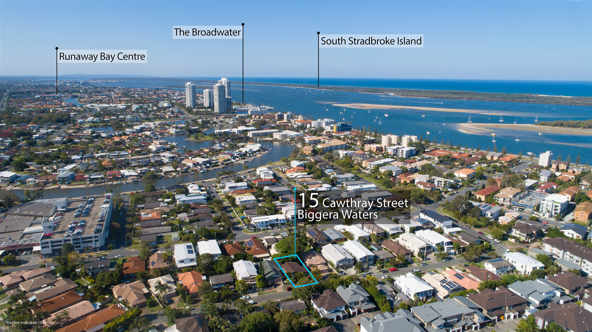Redevelop 500m to The Broadwater