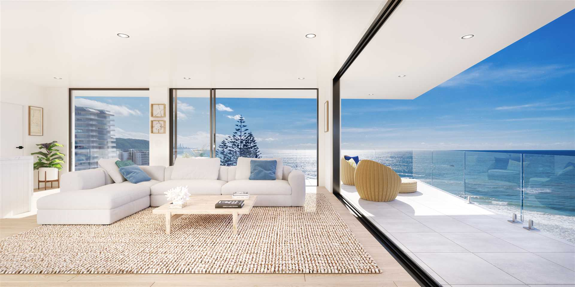 The Sunrise Penthouse with.....the endless view.