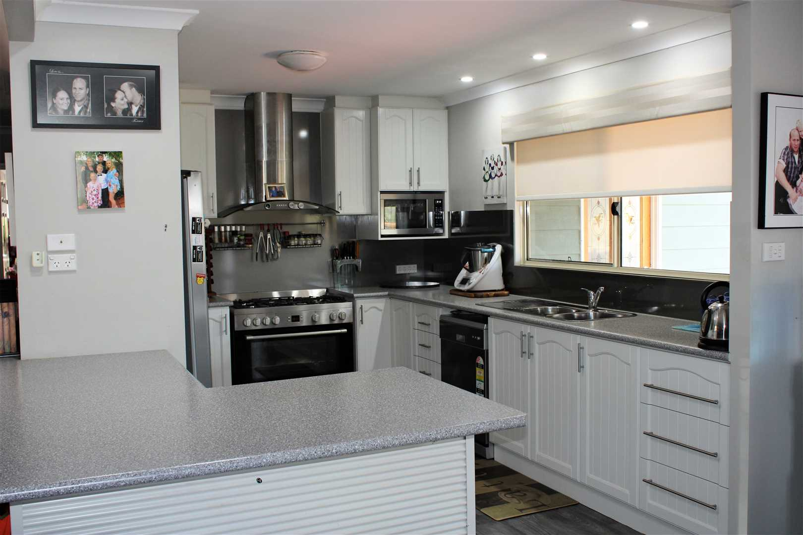 Kitchen in main residence