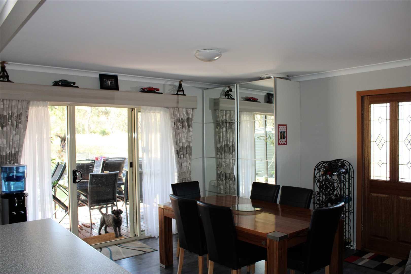 Dining room, main residence