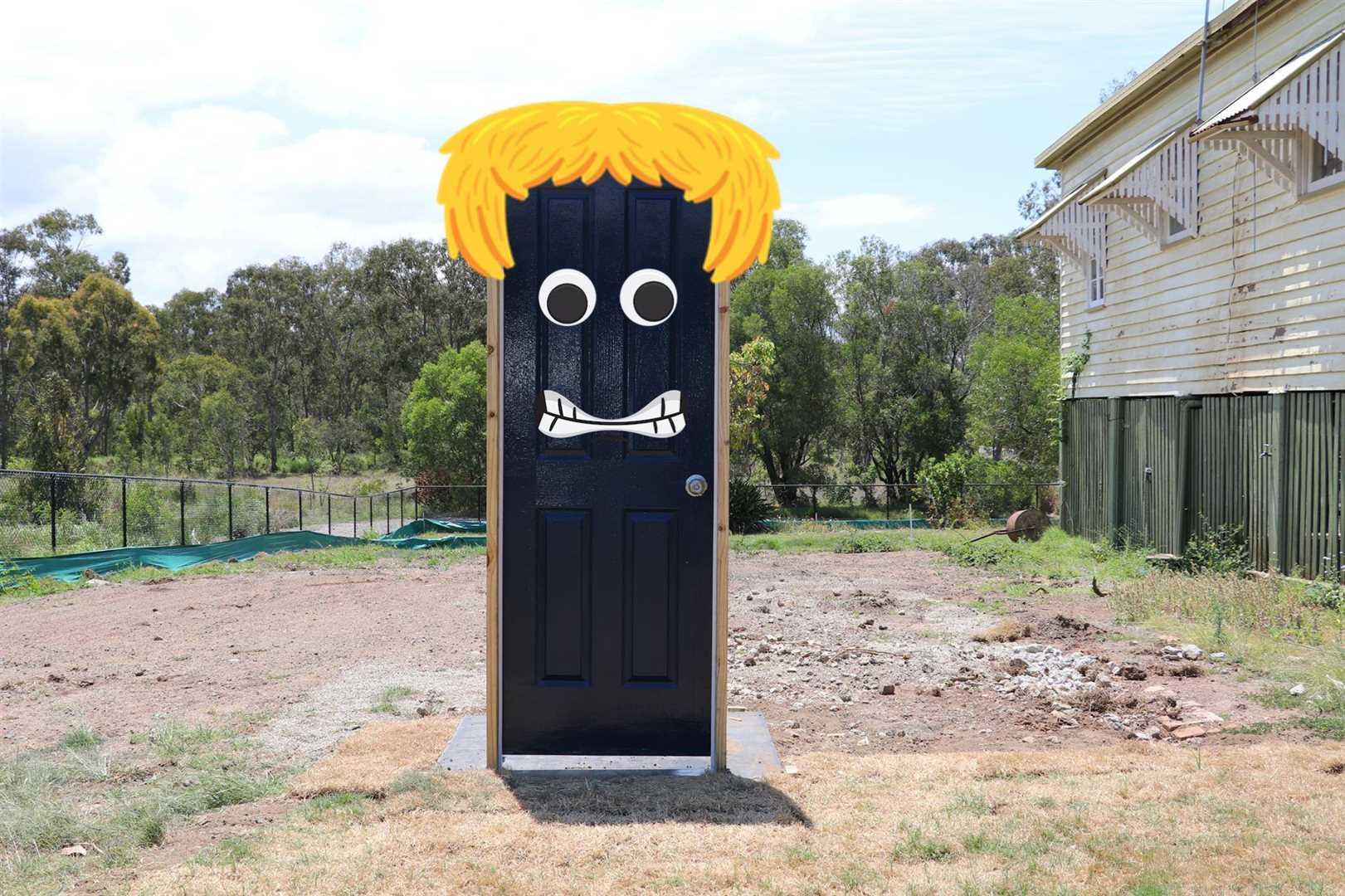 What is Behind The Blue Door?