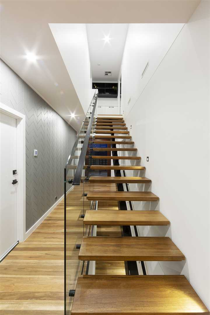 Stairs to top level