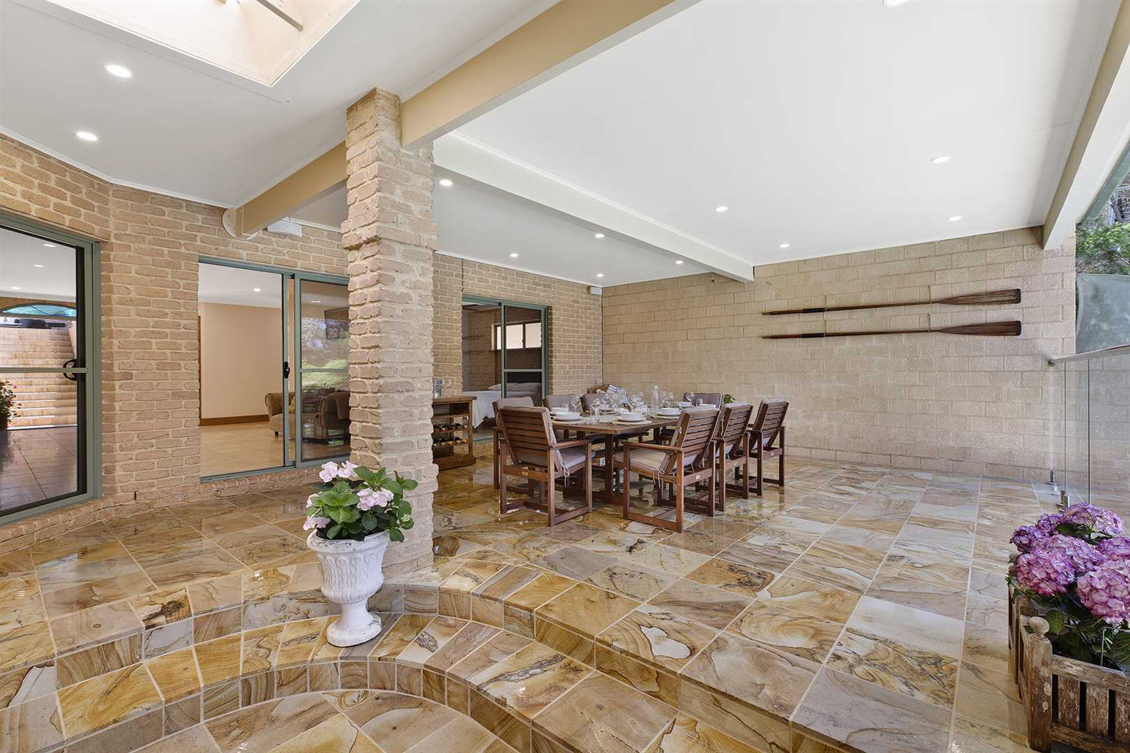 Covered Outdoor Entertaining