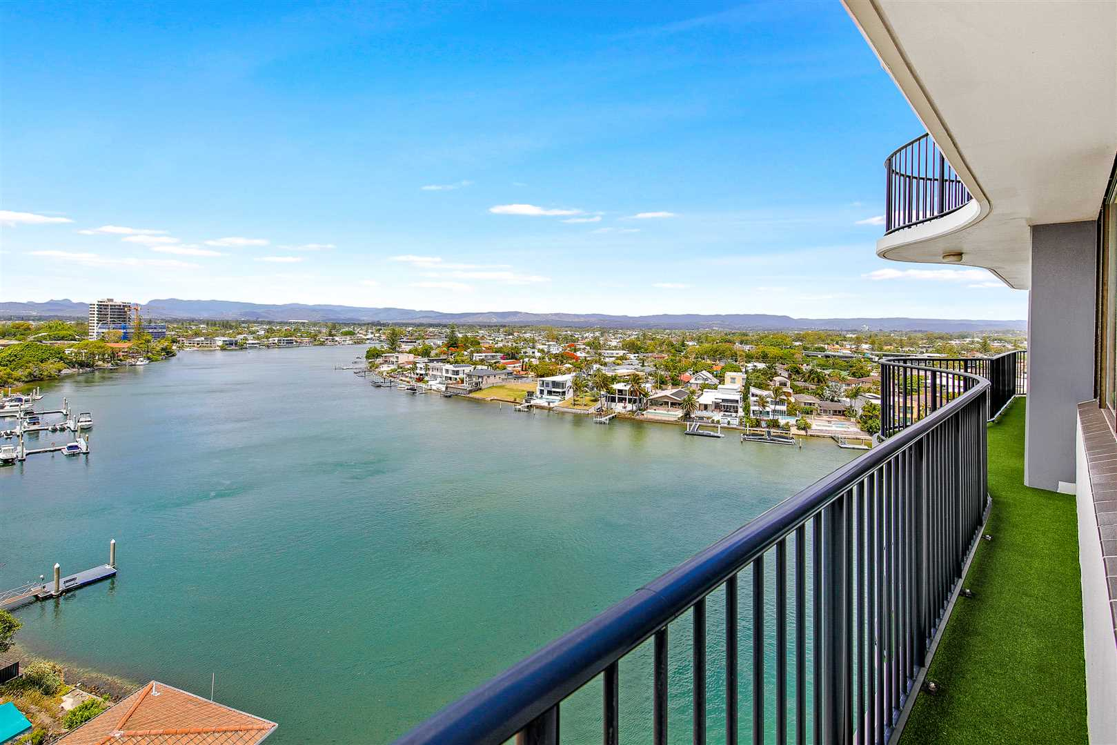 Riverfront Apartment With Expansive Views!!