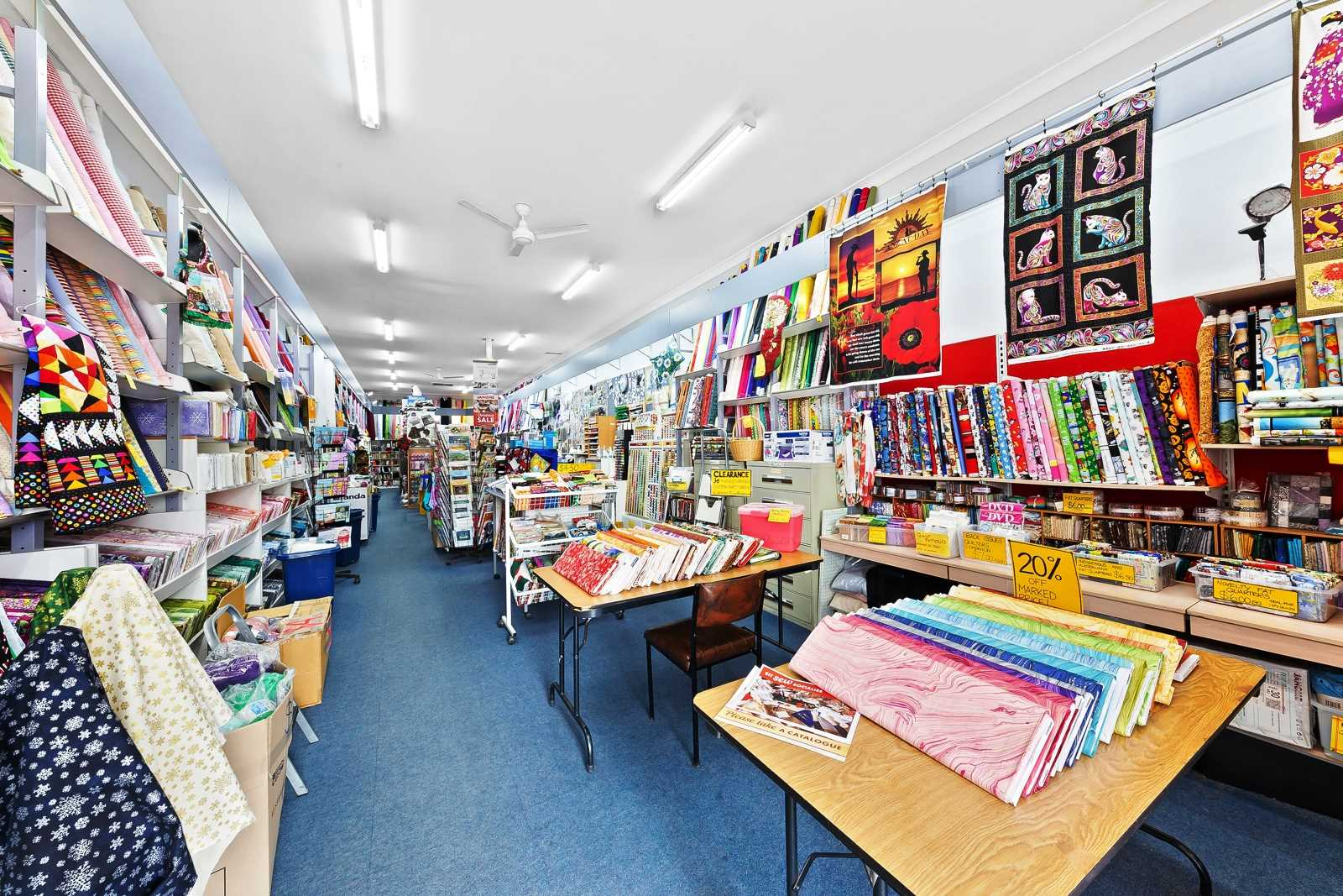 Business for Sale - Bargain Box Fabrics, Melton South