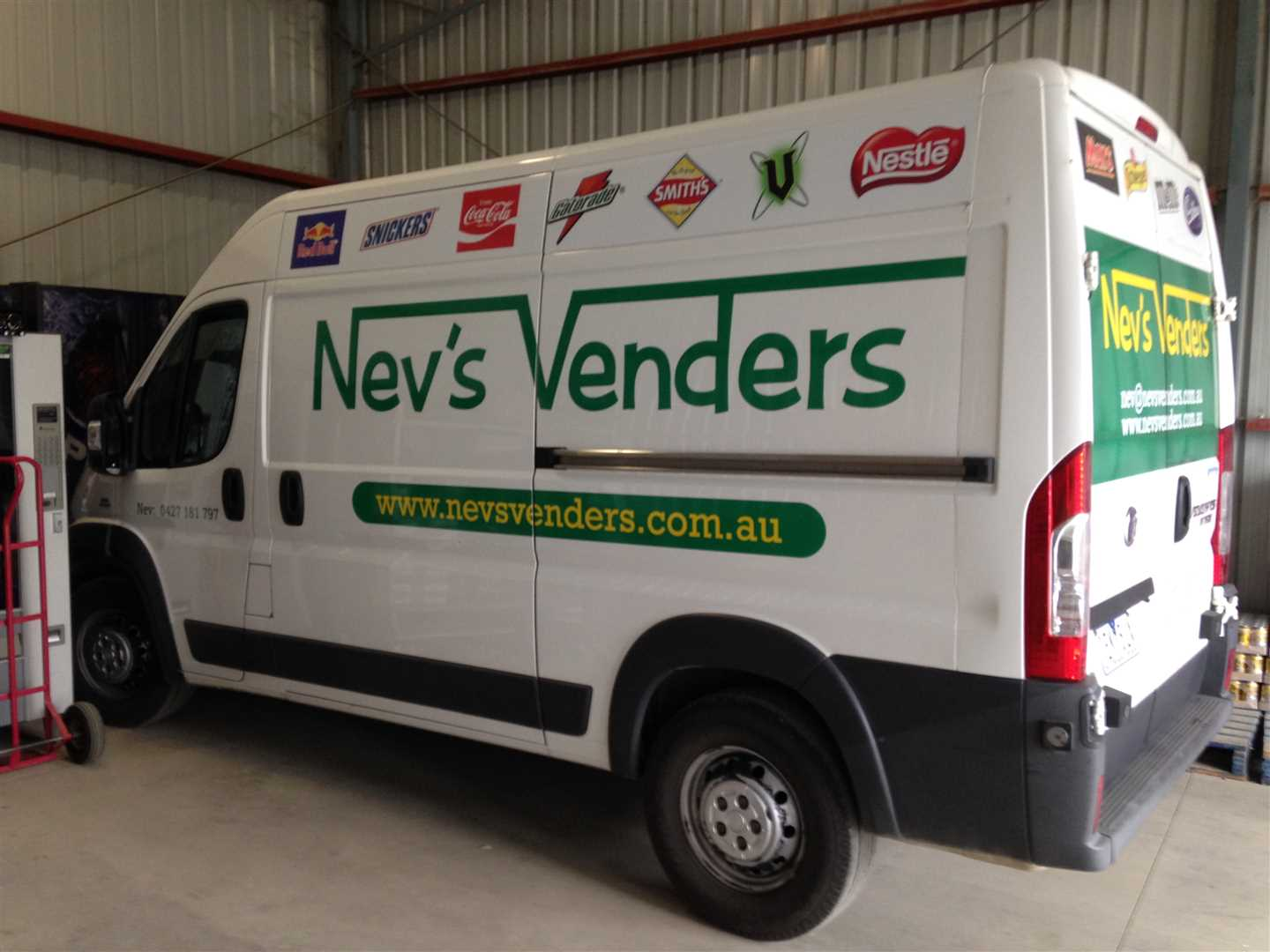 Business for Sale - Nev's Venders, Echuca