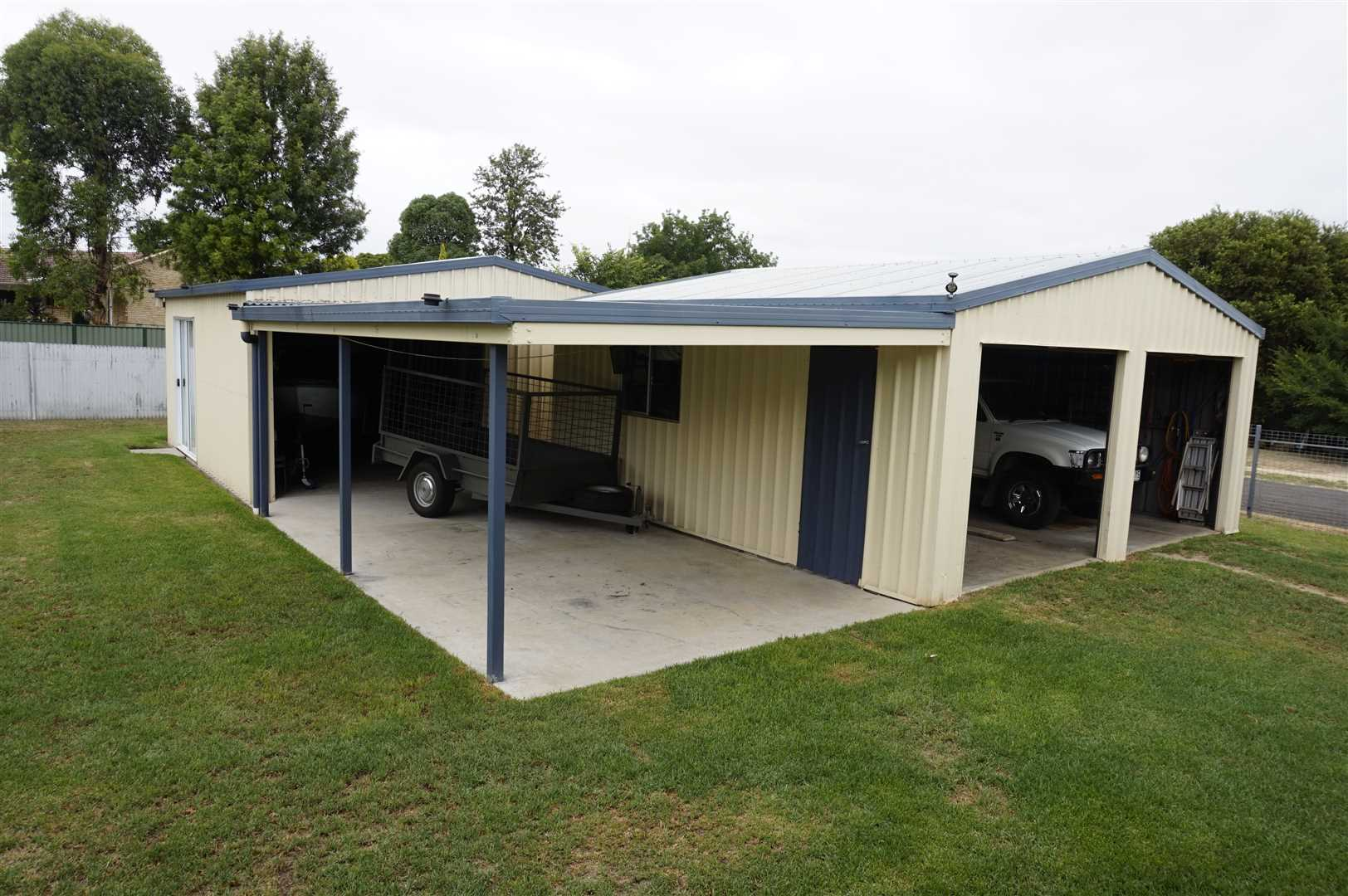 Carport, Games Room and 2 Car Garage