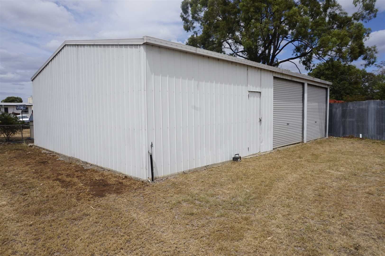 Back Storage Shed