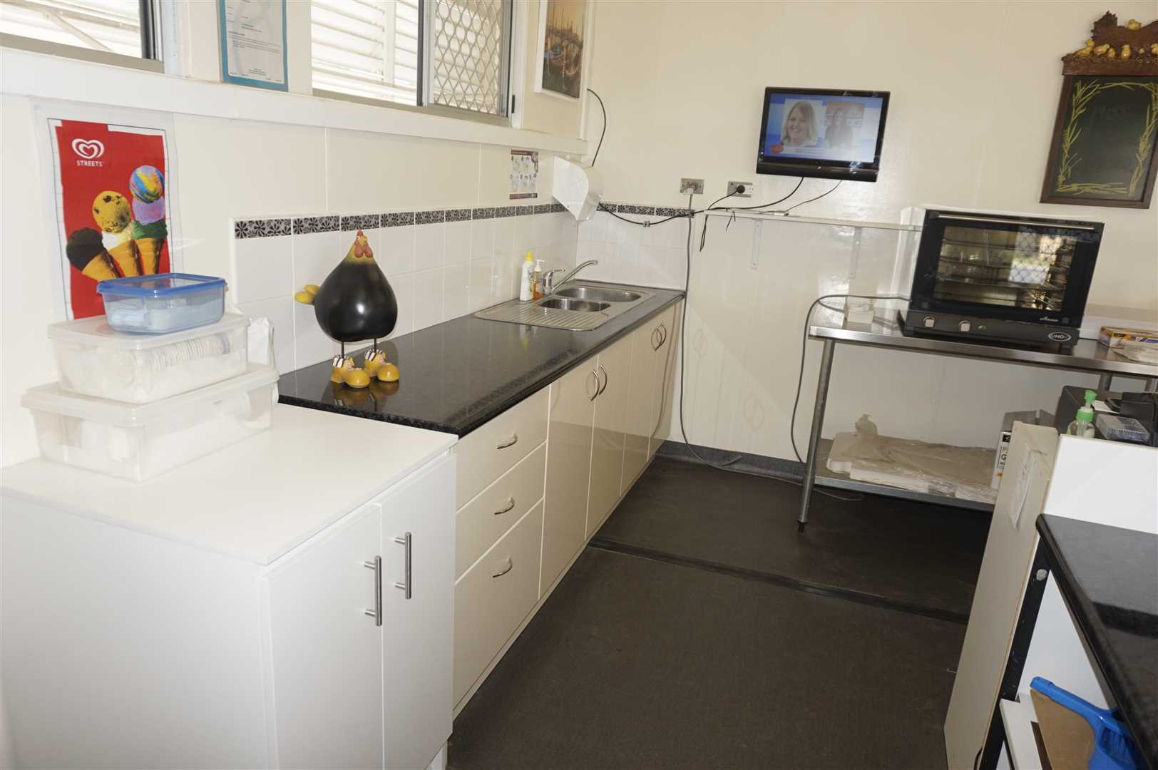 Servery and Sink