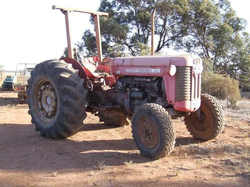 Massey Ferguson 65 tractor (not multi power)