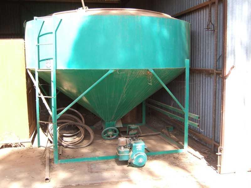 Venning 40 bag seed unit & motor